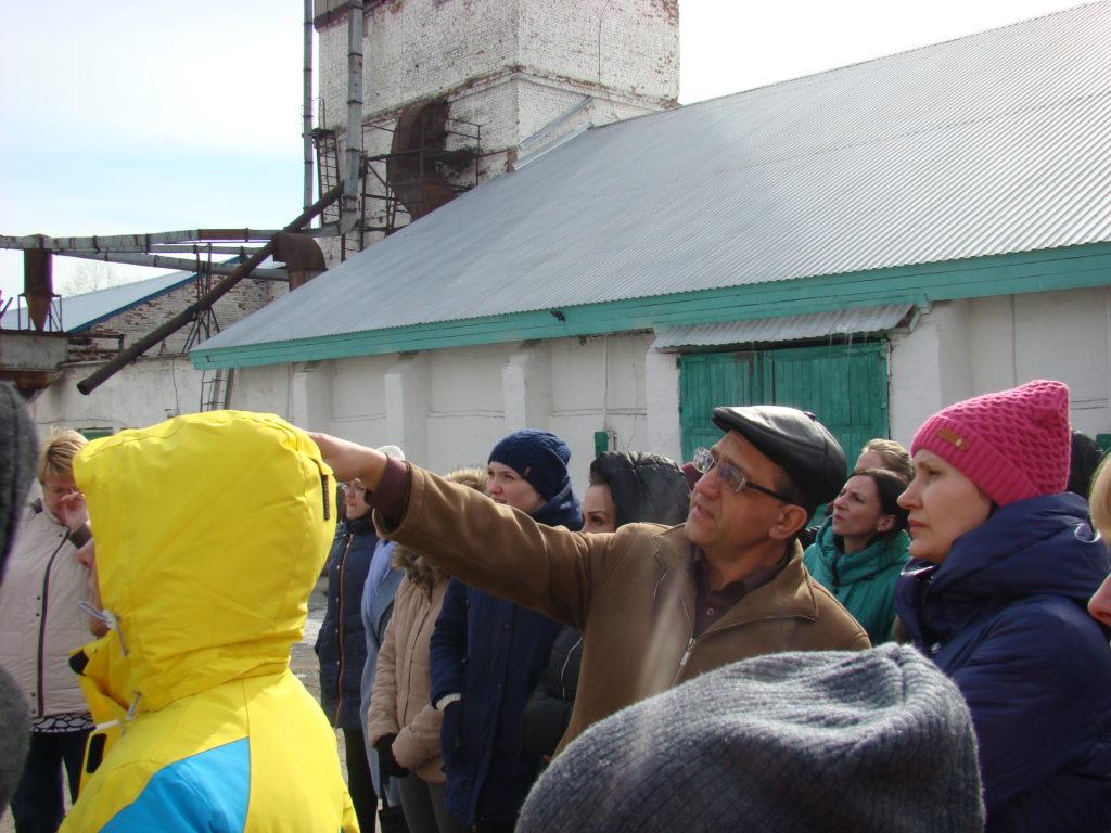 Сотрудники Голдман Груп на экскурсии в Атамановском Хлебоприемном предприятии
